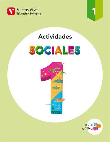 CUAD CIENCIAS SOCIALES 1º PRIM - Aula Activa