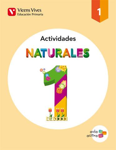 CUAD CIENCIAS NATURALEZA 1º PRIM - Aula Activa