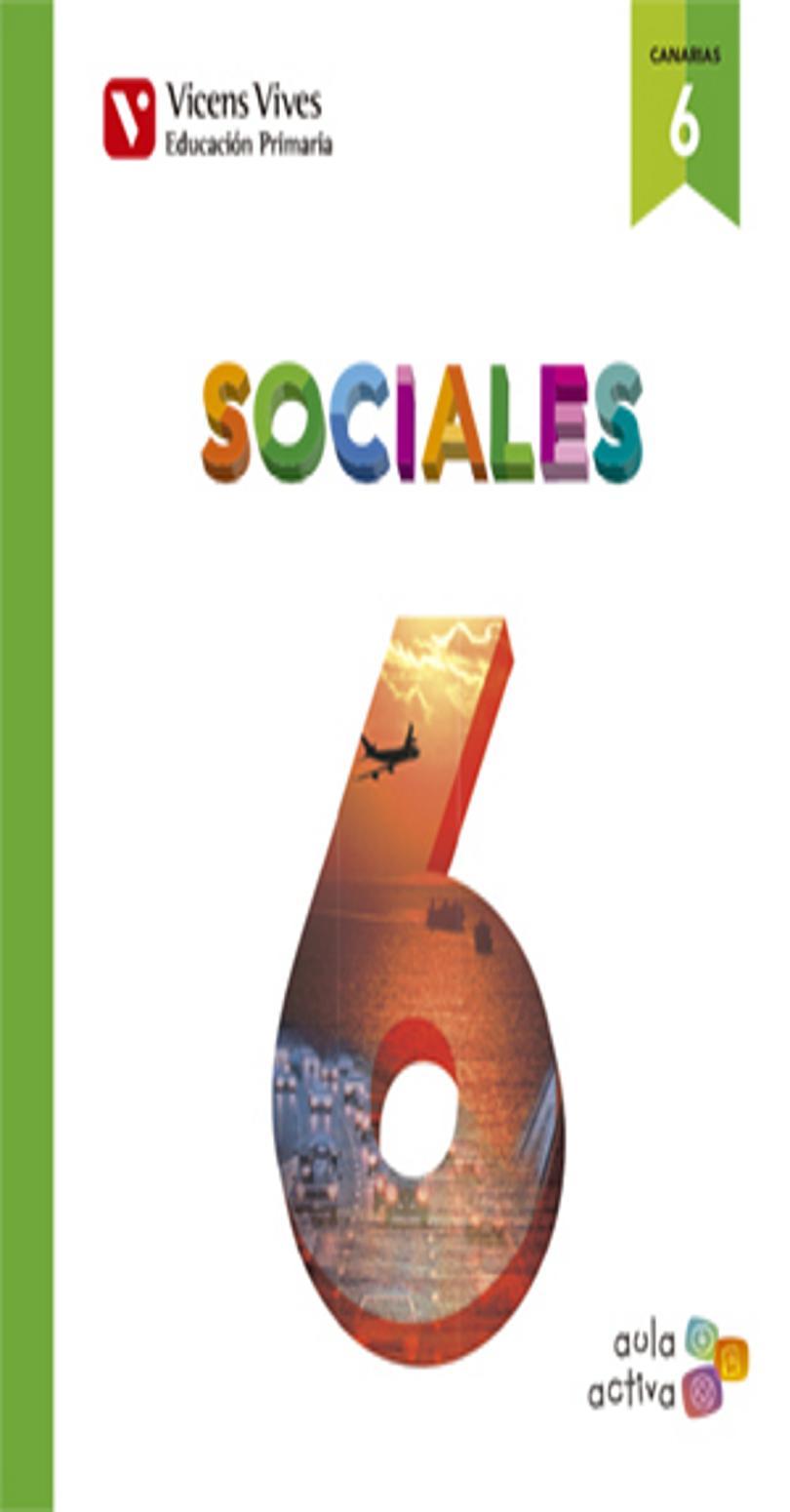 CIENCIAS SOCIALES 6º PRIM Aula Activa Canarias