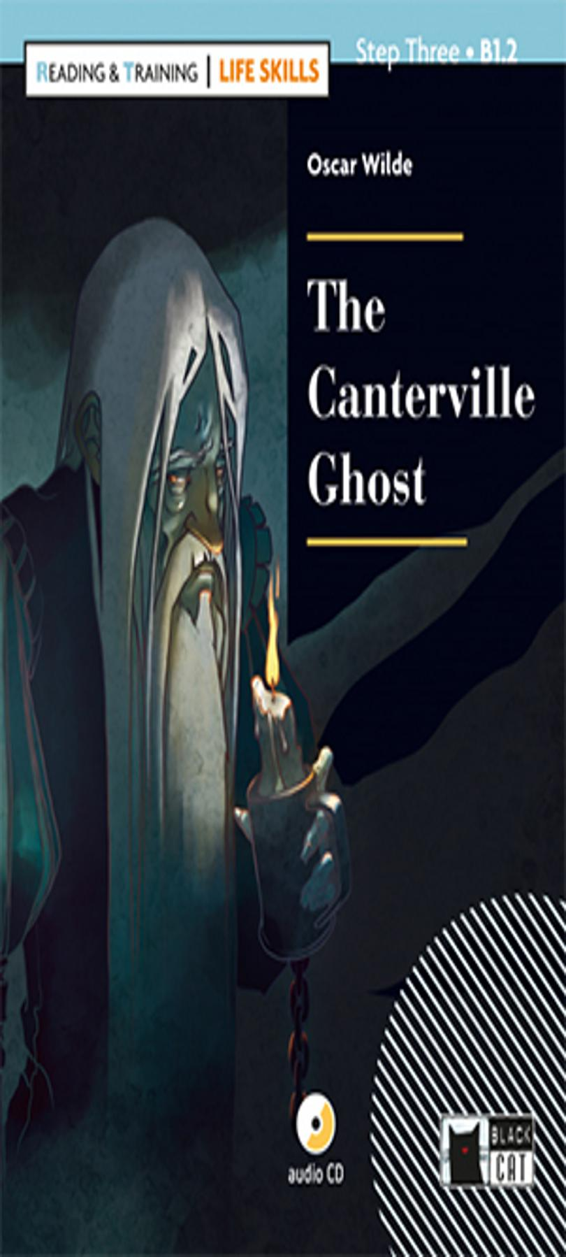 CANTERVILLE GHOST , THE + CD B1.2 Life Skills - Black Cat (4º ESO)