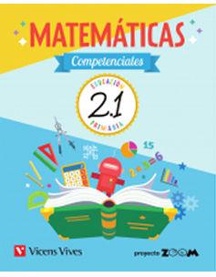 CUAD. MATEMATICAS COMPETENCIAL  2 PRIM (2.1, 2.2, 2.3) PACK