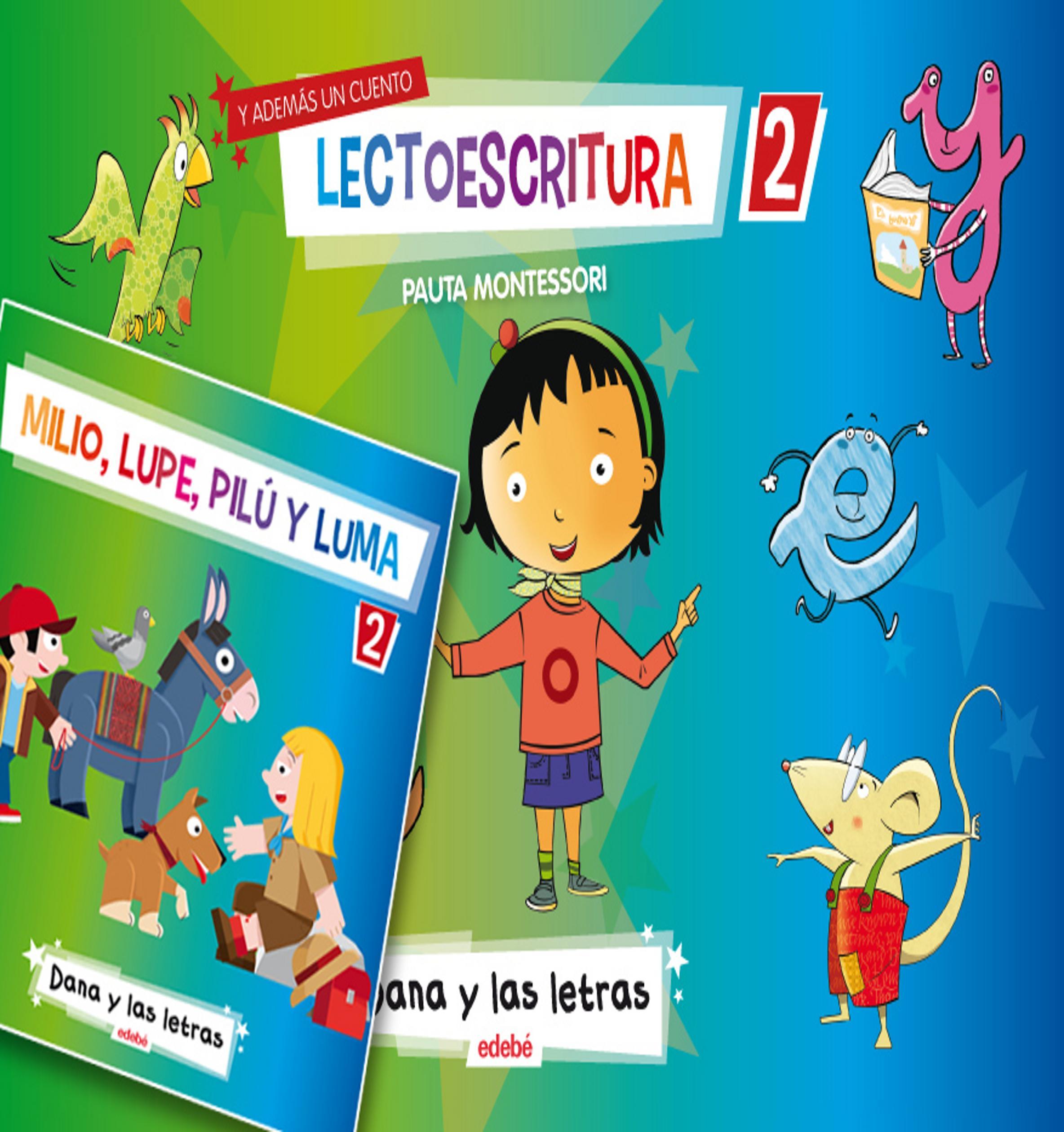DANA Y LAS LETRAS - Libro de lectura