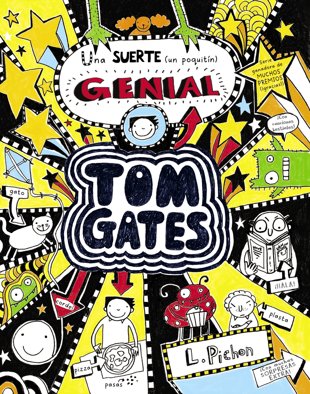 TOM GATES nº7 una suerte ( un poquitin) genial