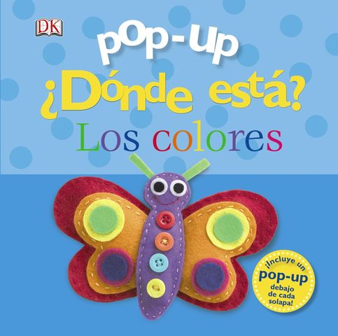 DONDE ESTA LOS COLORES pop-up