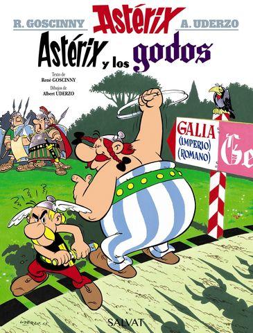 ASTERIX Y LOS GODOS Nº3