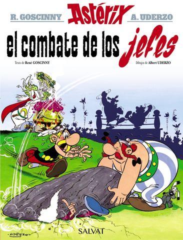 ASTERIX EL COMBATE DE LOS JEFES Nº7