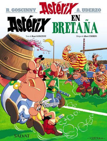 ASTERIX EN BRETAÑA Nº8