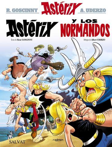ASTERIX Y LOS NORMANDOS Nº9