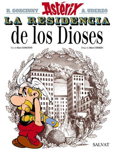 ASTERIX LA RESIDENCIA DE LOS DIOSES Nº17