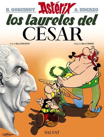 ASTERIX LOS LAURELES DEL CESAR Nº18
