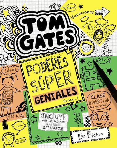 TOM GATES nº10 poderes super geniales casi..