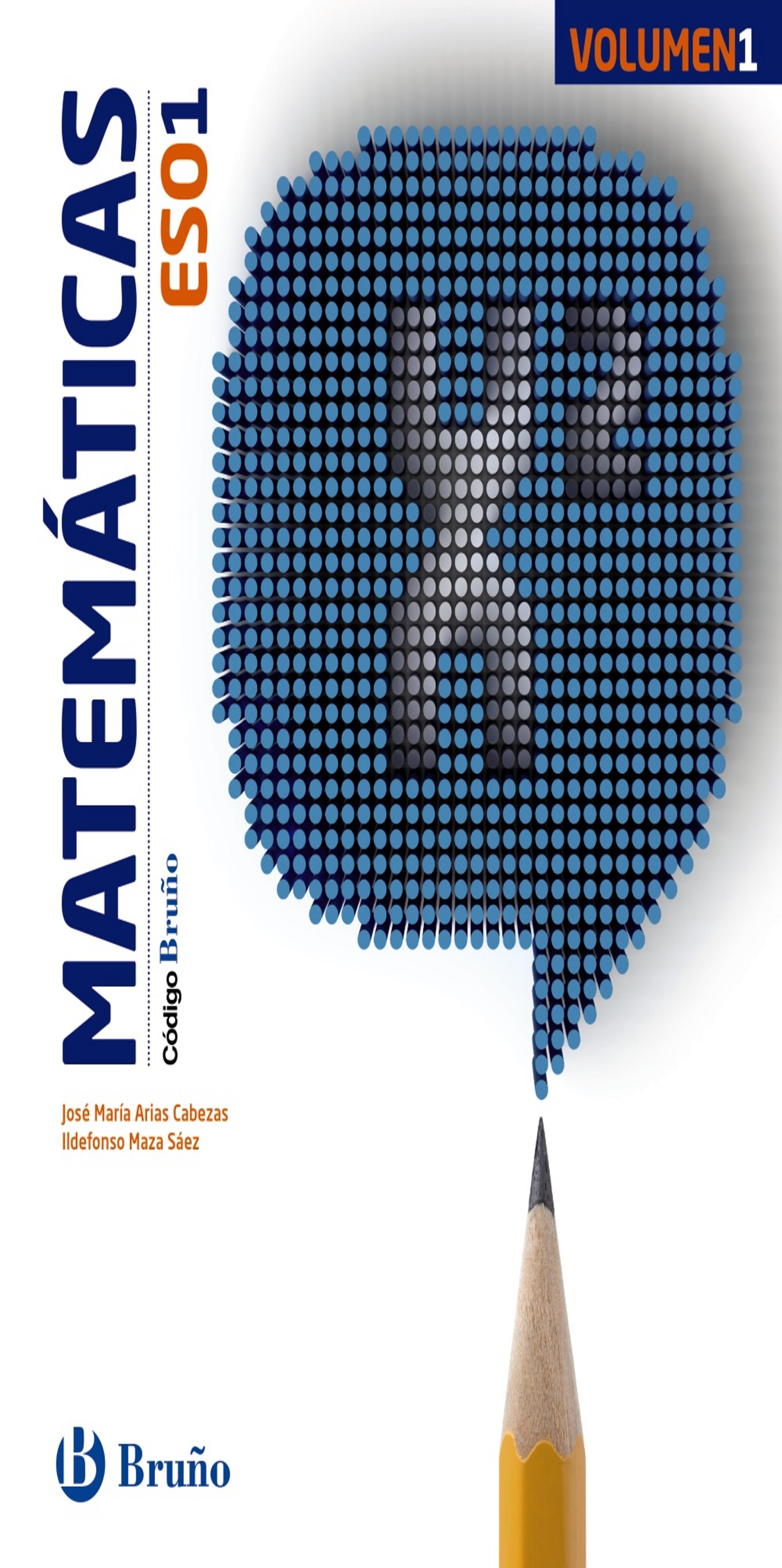 MATEMATICAS 1 ESO Trimestres - codigo Bruño