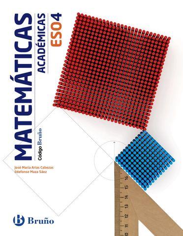 CODIGO BRUÑO MATEMATICAS 4 ESO - Academicas