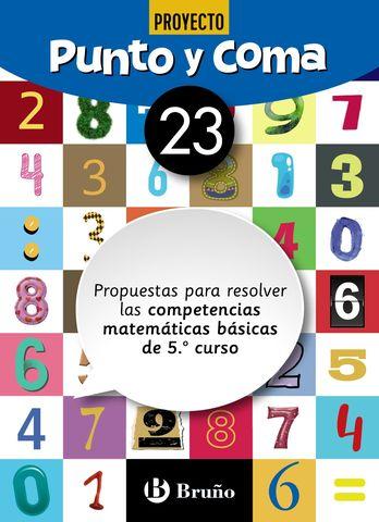 PUNTO Y COMA MATEMÁTICAS 23