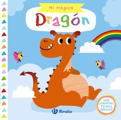 MI MAGICO DRAGON !con lenguetas y piezas moviles¡