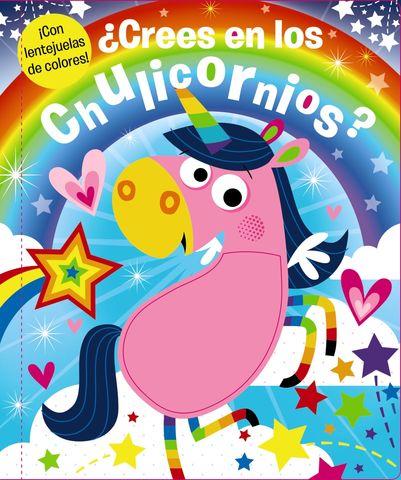 ¿CREES EN LOS CHULICORNIOS ? ! con lentejuelas de colores ¡
