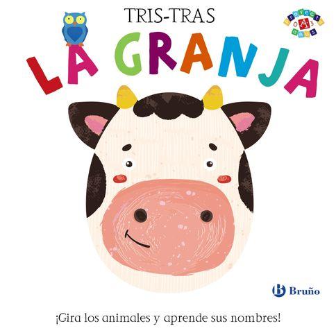 TRIS-TRAS LA GRANJA ! gira los animales y aprende sus nombres¡