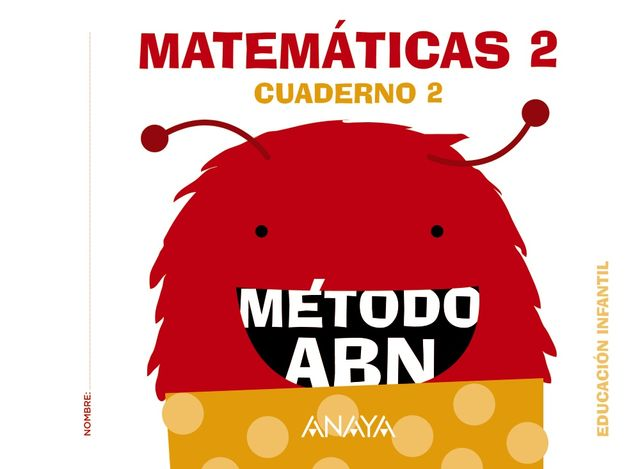 MATEMÁTICAS ABN Nivel 2 Cuaderno 2 - 4 Años
