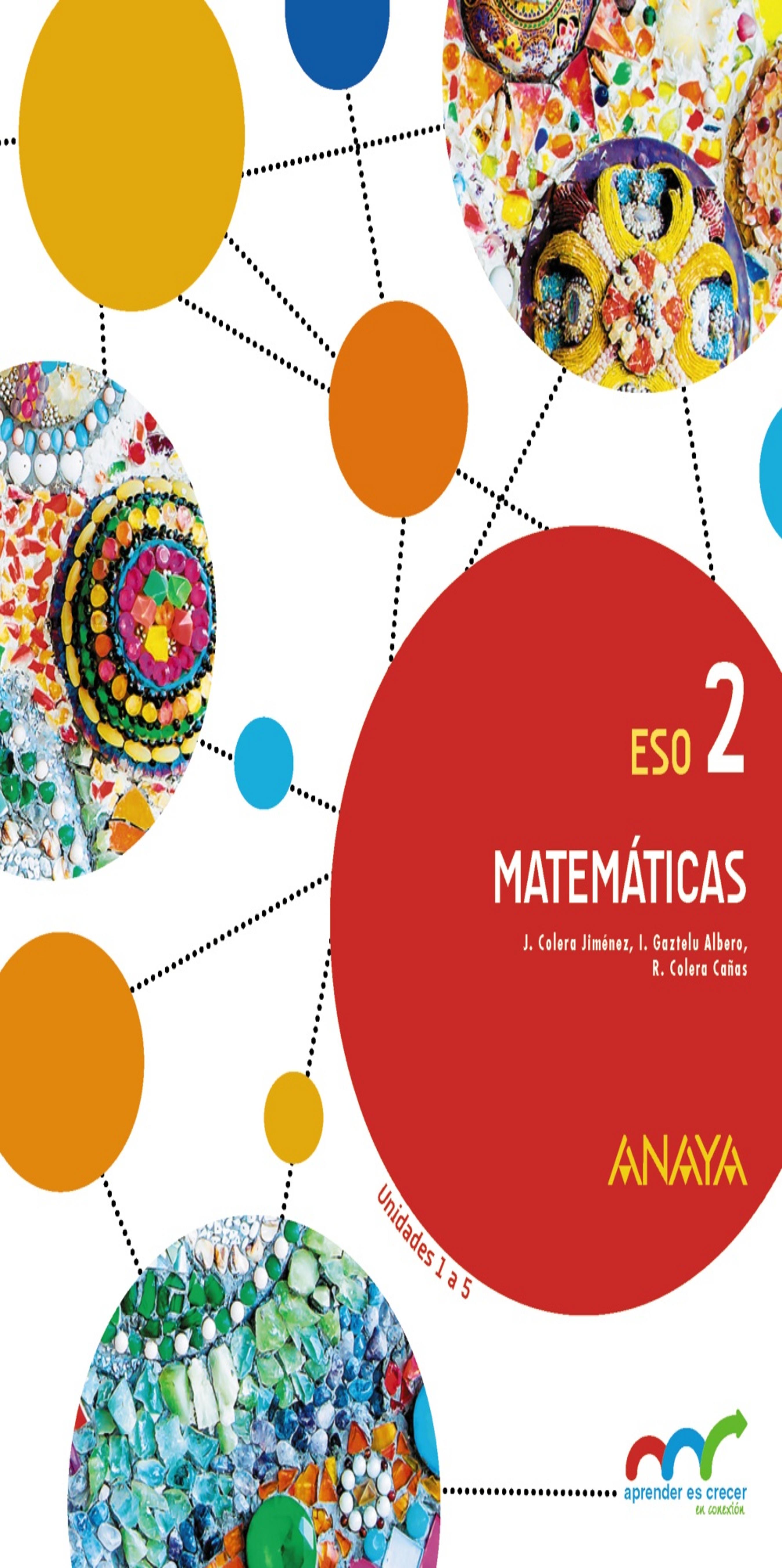 MATEMÁTICAS 2 ESO Trimestres - Aprender es Crecer en Conexión. Anaya