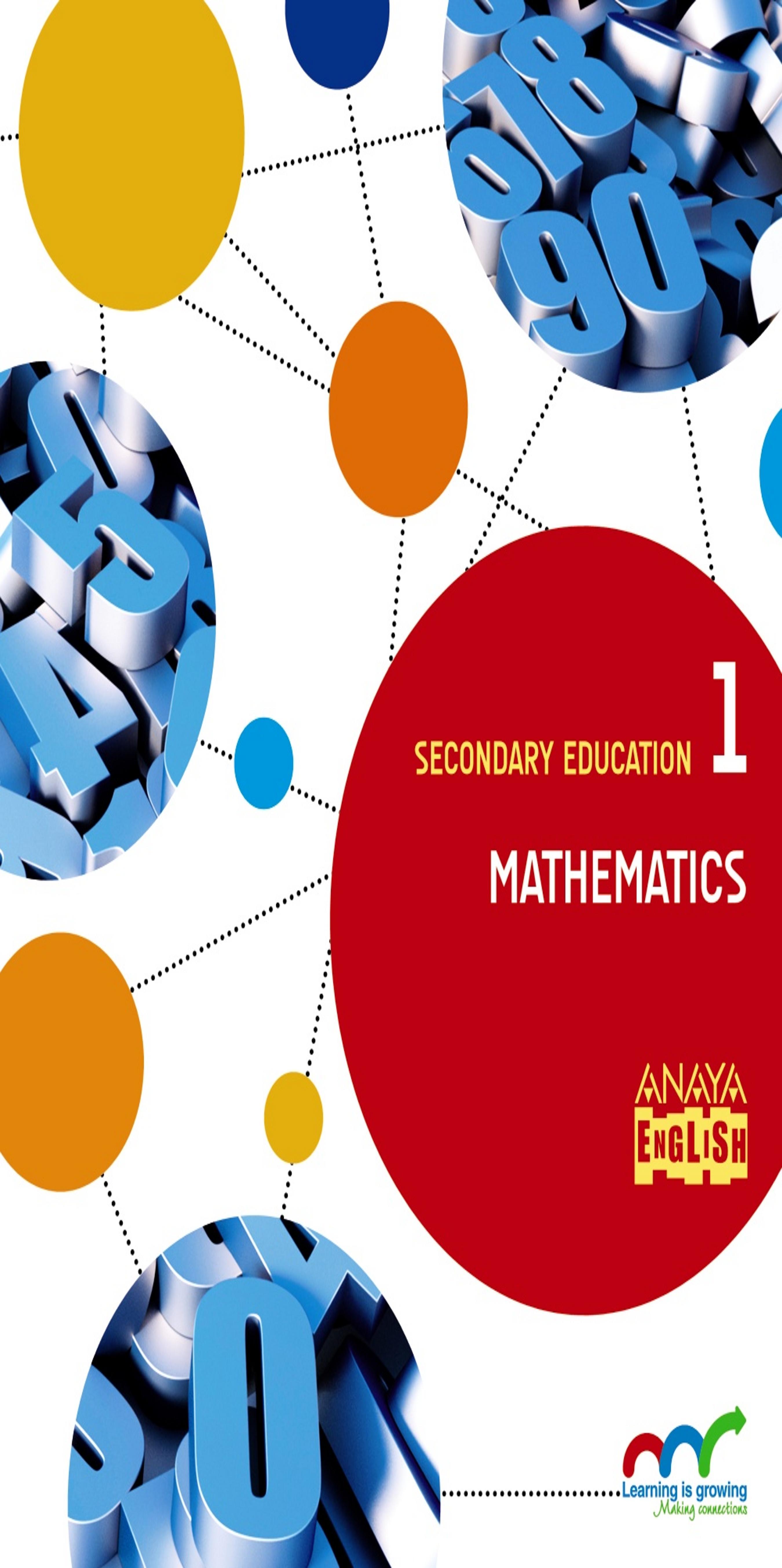 MATHEMATICS 1º ESO - Secondary Education