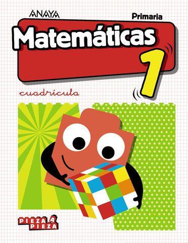 MATEMATICAS 1 Pieza a Pieza (CUADRICULA)