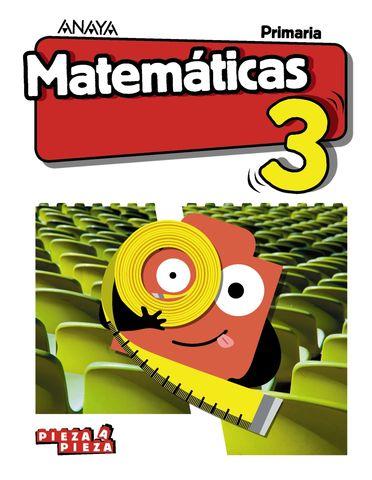 MATEMATICAS 3 PRIM - Pieza a Pieza