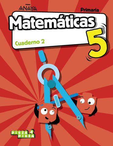 CUADERNO DE MATEMATICAS 5º PRIMARIA 2º TRIMESTRE PIEZA A PIEZA