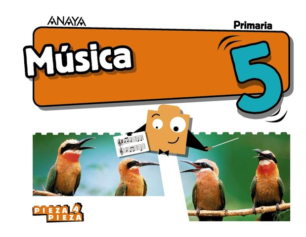 MUSICA 5 PRIM - Pieza a Pieza