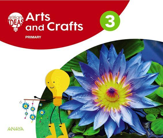 ARTS AND CRAFTS 3 PUPILS BOOK+ PORTAFOLIO