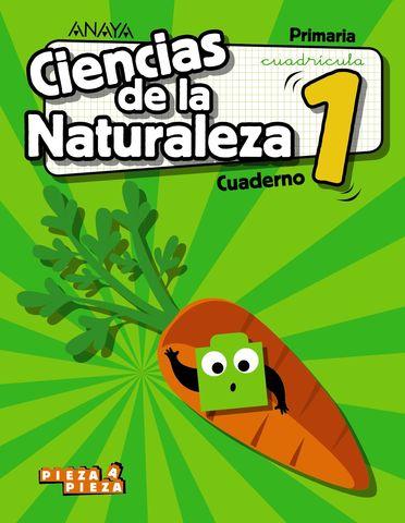 CUADERNO CIENCIAS DE LA NATURALEZA 1º CUADRICULA