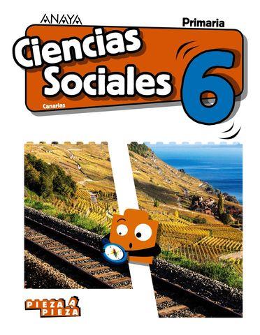 CC SOCIALES 6 PRIM - Pieza a Pieza