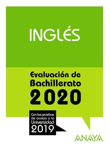 INGLES: EVALUACION DE BACHILLERATO 2020