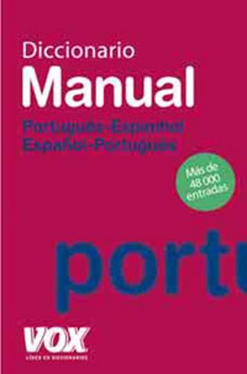 DICC Vox MANUAL Portugués - Esp / Esp - Portugués