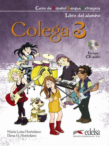 COLEGA 3 Alumno + Ejercicios + CD