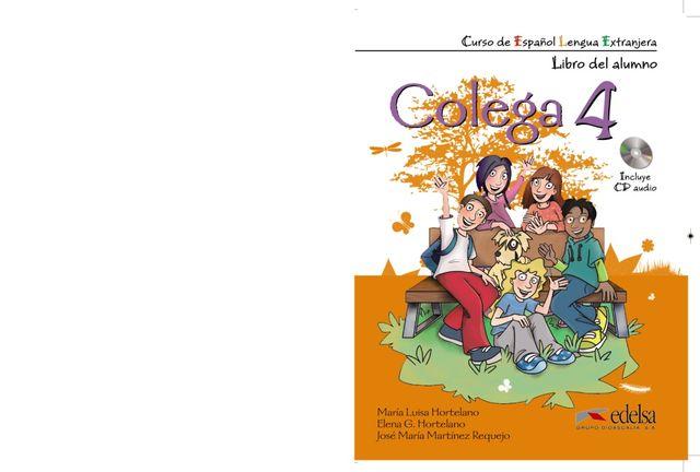 COLEGA 4 Alumno + Ejercicios + CD