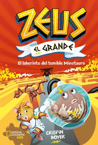 ZEUS EL GRANDE Nº 2 EL LABERINTO DEL TEMIBLE MINOTAURO