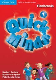 QUICK MINDS 1 Flashcards Spanish Edition