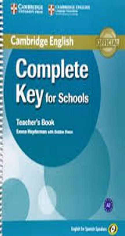 COMPLETE KEY FOR SCHOOLS TB - English Spanish Speakers