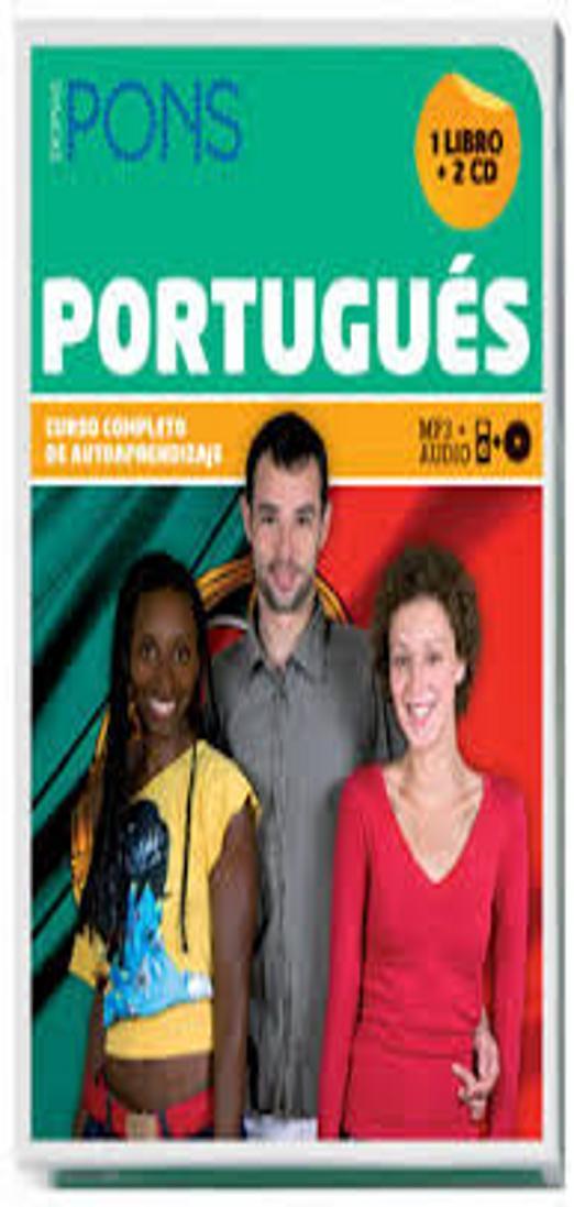PORTUGUÉS Curso PONS Autoaprendizaje Libro + 2 CDs