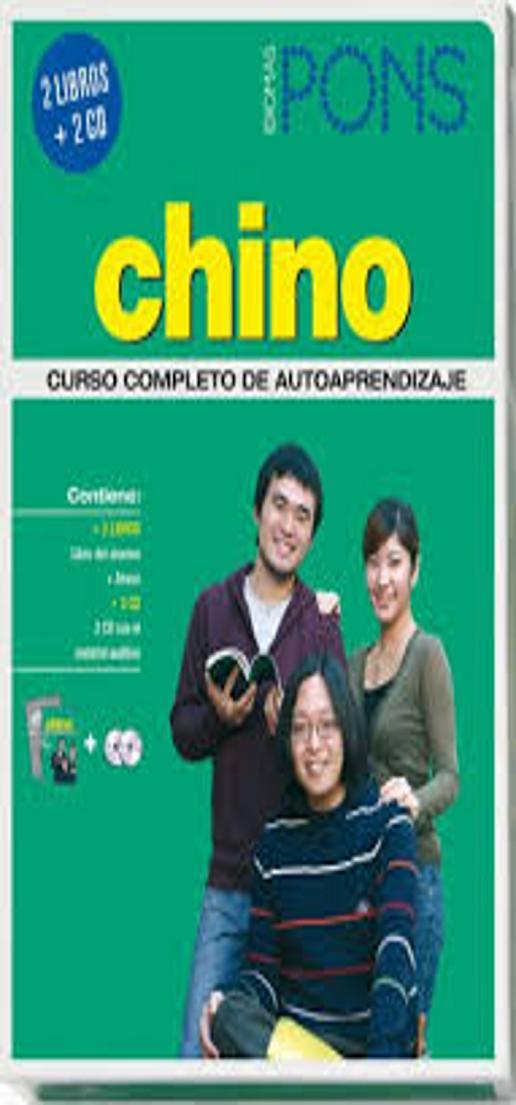 CHINO Curso PONS Autoaprendizaje 2 Libros + 4 Cds