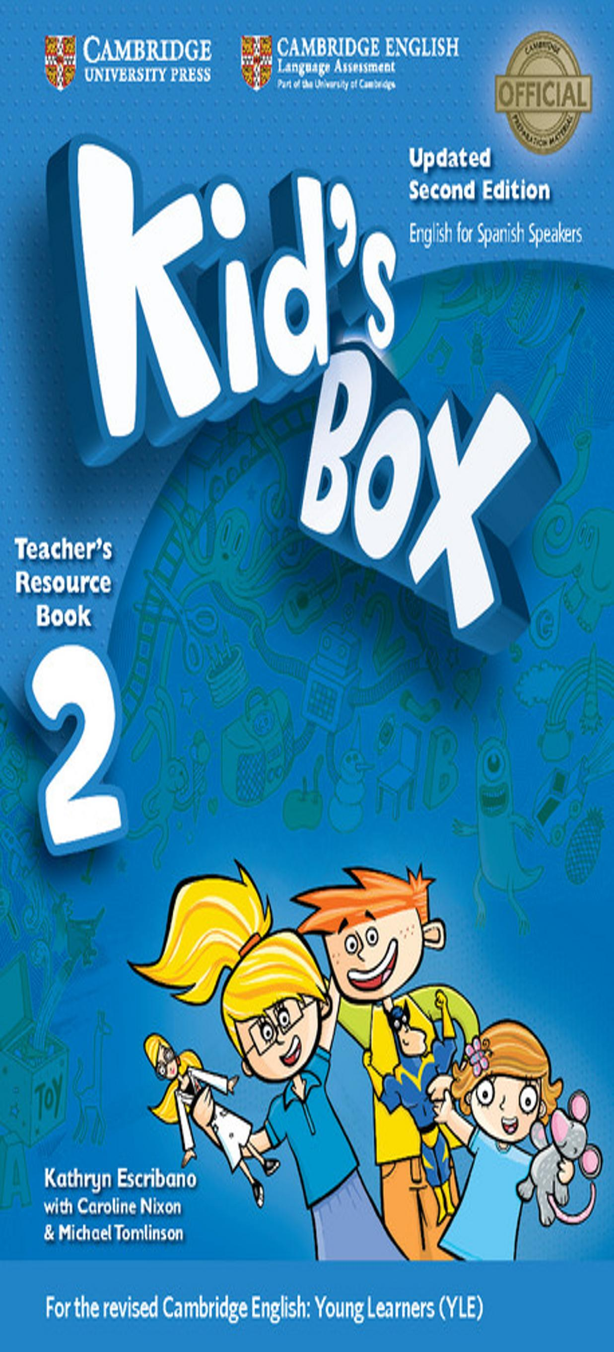 KID´S BOX 2 Teacher´s Resource Book + Online Audio 2nd Ed Updated