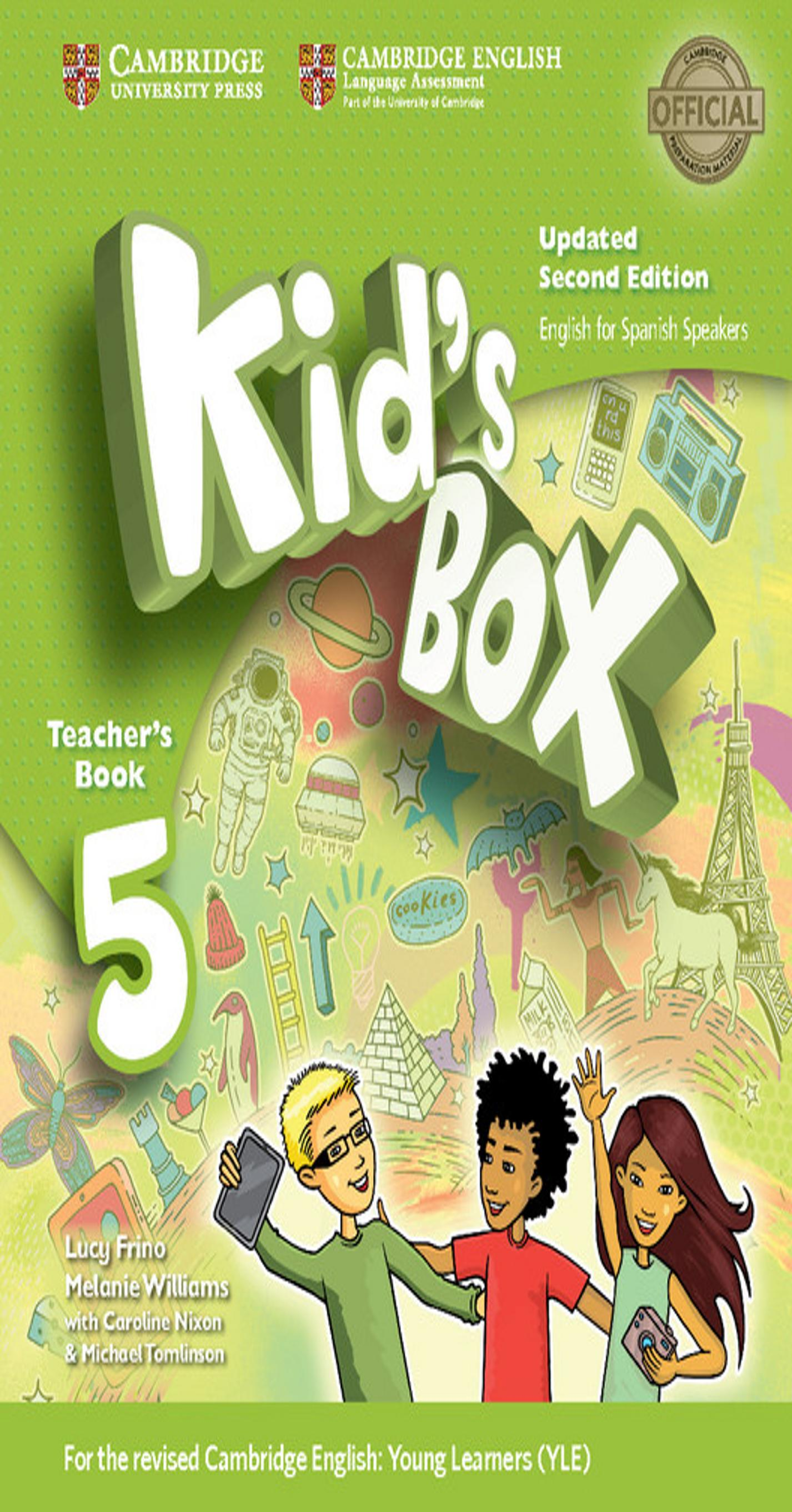 KID´S BOX 5 TB 2nd Ed Updated