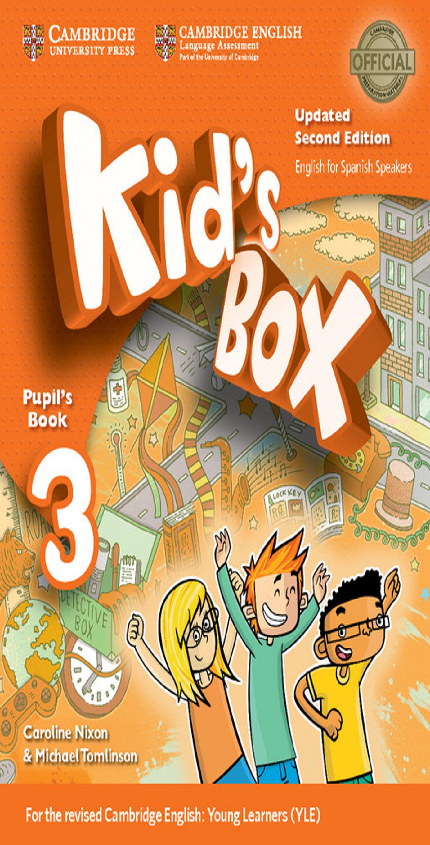 KID´S BOX 3 SB 2nd Ed Updated