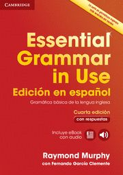 ESSENTIAL GRAMMAR IN USE + CD ROM + eBook Español 4th Ed + respuestas