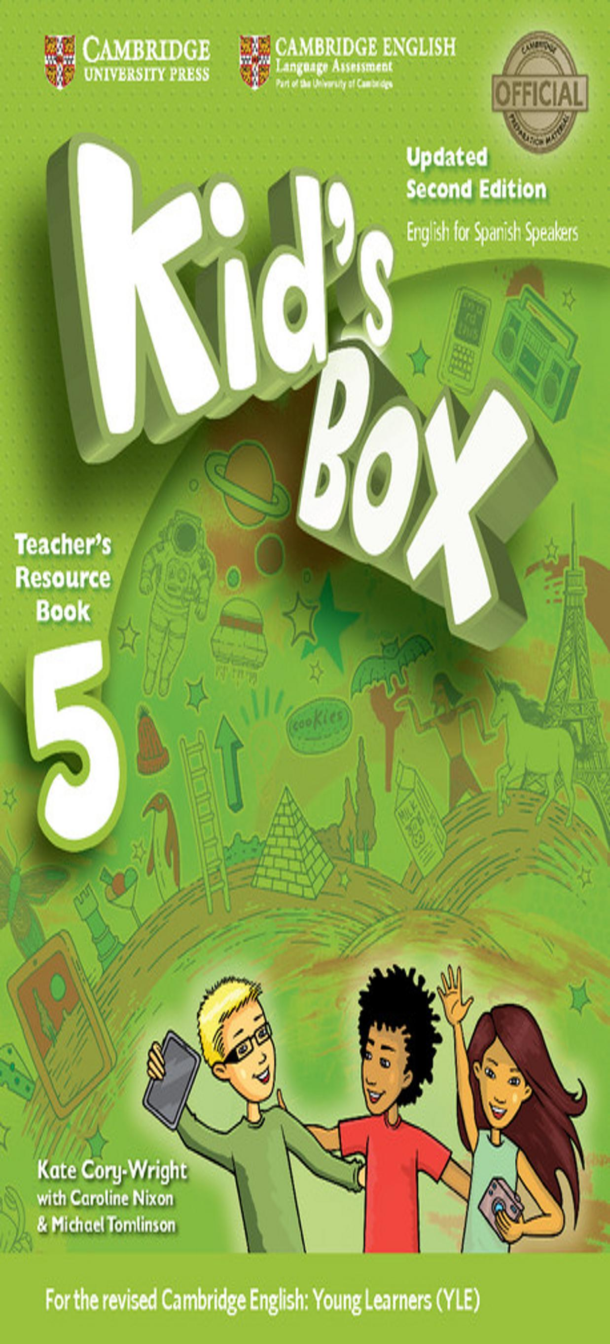 KID´S BOX 5 Teacher´s Resource Book + Online Audio 2nd Ed Updated
