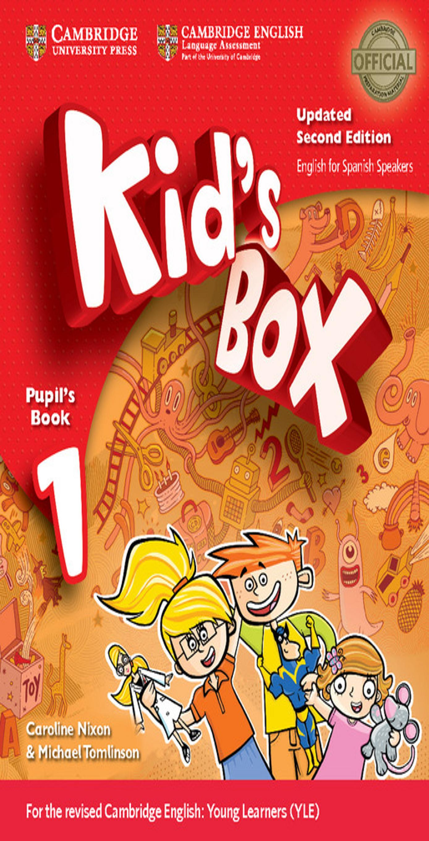 KID´S BOX 1 SB + My Home Booklet 2nd Ed Updated