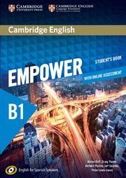 EMPOWER B1 STUDENTS BOOK + ONLINE ASSESSMENT