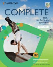 COMPLETE FIRST FOR SCHOOLS (FCE) SB 2nd Ed Rev 2015 Eng Sp Speake