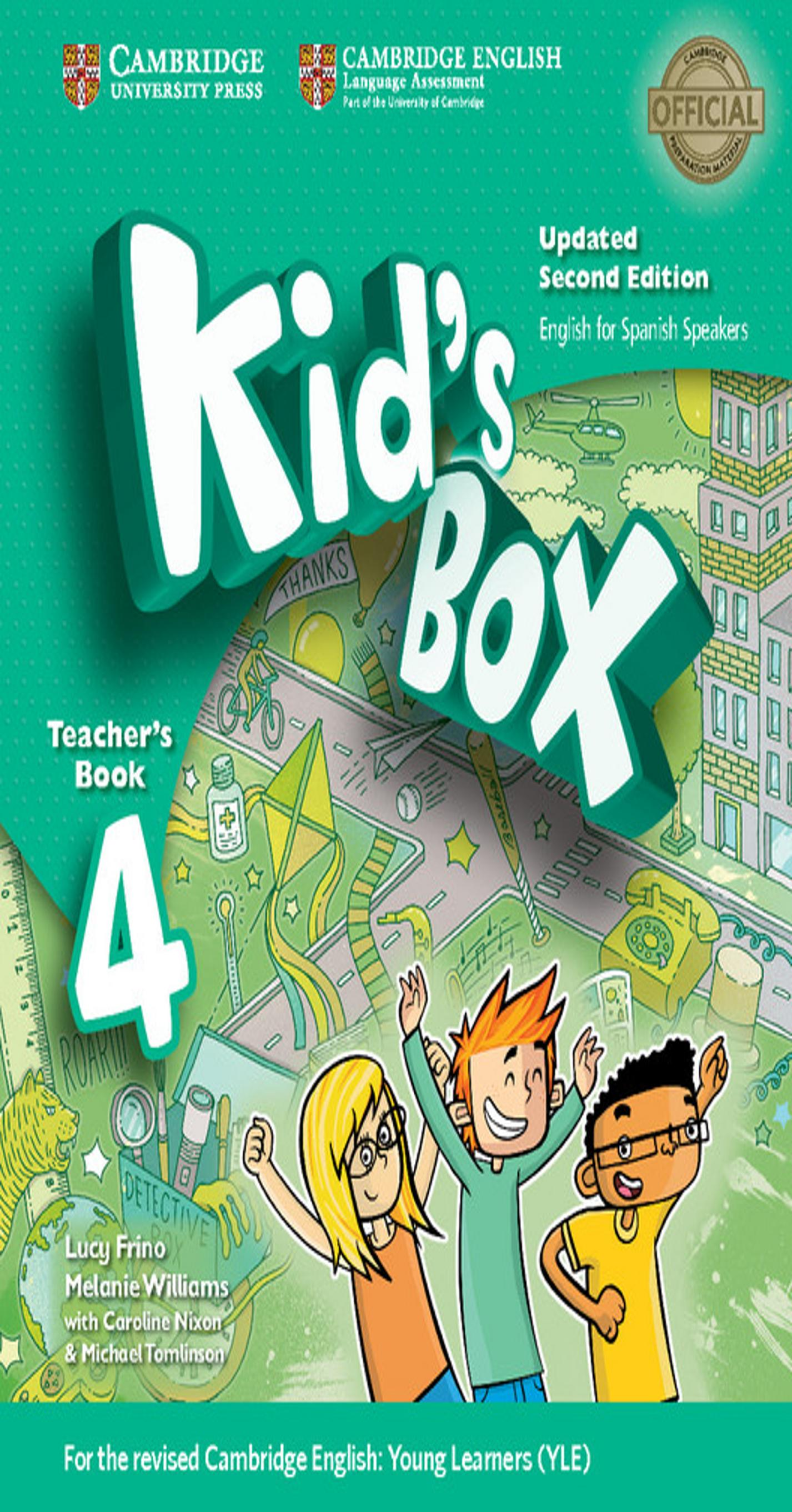 KID´S BOX 4 TB 2nd Ed Updated