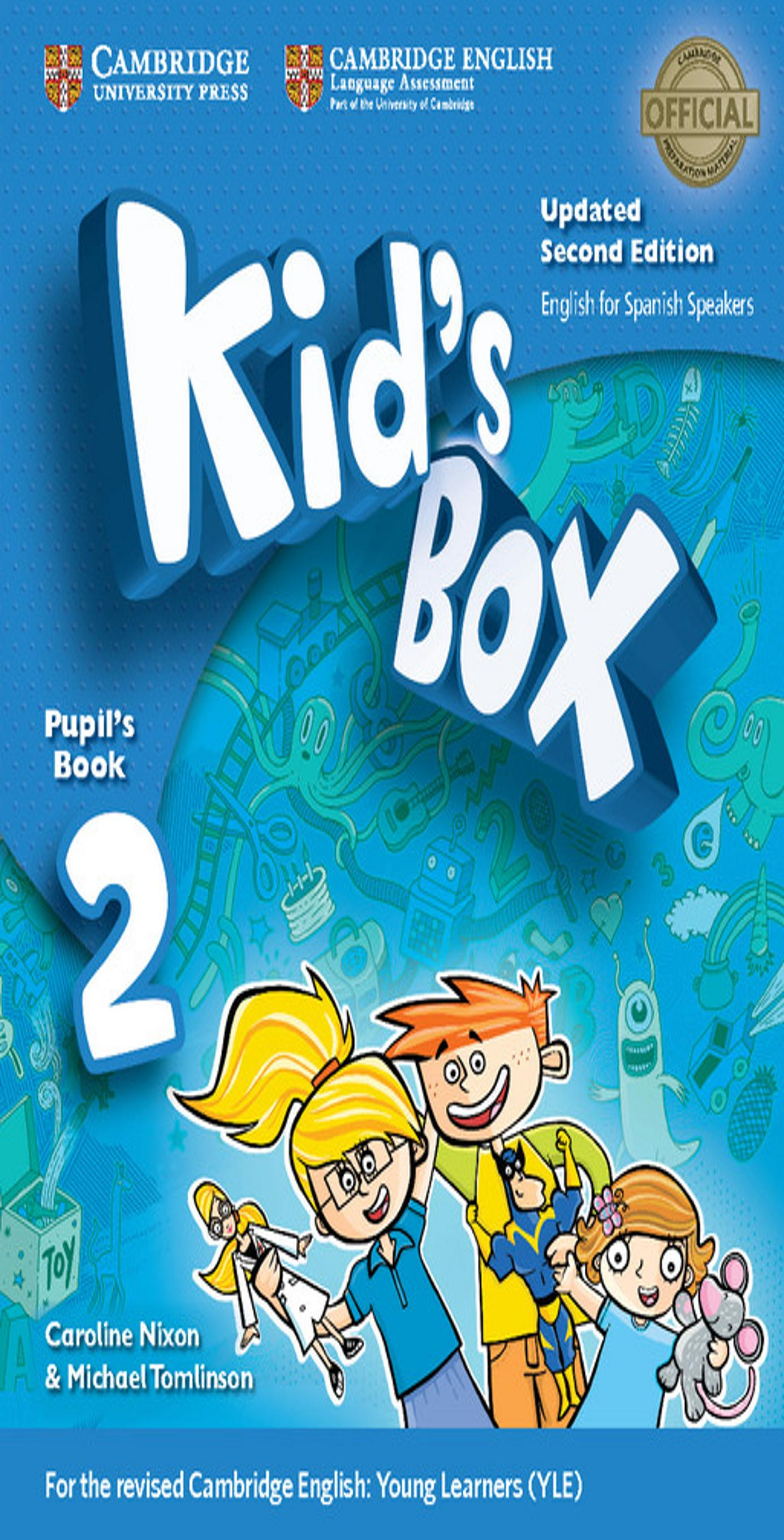 KID´S BOX 2 SB + My Home Booklet 2nd Ed Updated